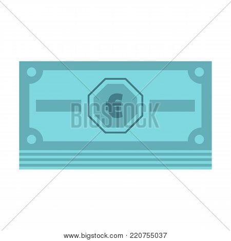 Cash money icon. Flat illustration of cash money vector icon isolated on white background