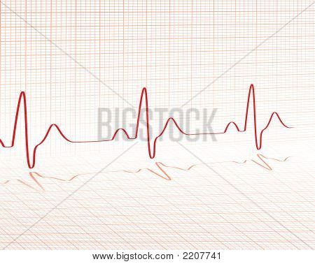 Heart Beat rejilla roja