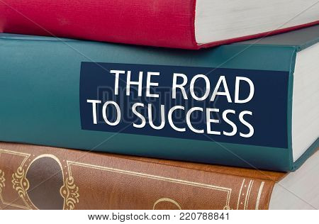 A book with the title The Road to success