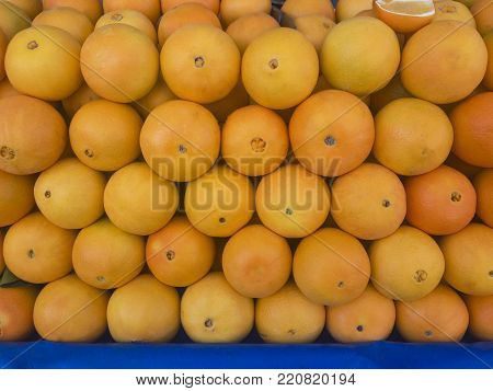 oranges prepared for the natural winter season & vitamin c