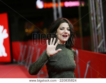 Esther Garrel attends the 'Call Me by Your Name' premiere during the 67th Berlinale Film Festival Berlin at Zoo Palast on February 13, 2017 in Berlin, Germany.