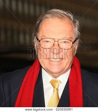 Krzysztof Zanussi attend the 'Spoor' (Pokot) premiere during the 67th Berlinale International Film Festival Berlin at Berlinale Palace on February 12, 2017 in Berlin, Germany.