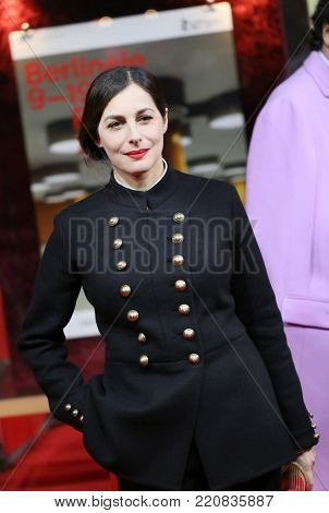 Actress Amira Casar attends the 'Call Me by Your Name' premiere during the 67th Berlinale Film Festival Berlin at Zoo Palast on February 13, 2017 in Berlin, Germany.