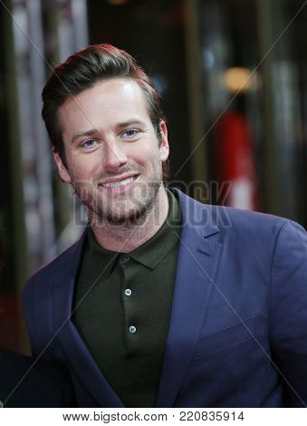 Armie Hammer  attends the 'Call Me by Your Name' premiere during the 67th Berlinale Film Festival Berlin at Zoo Palast on February 13, 2017 in Berlin, Germany.