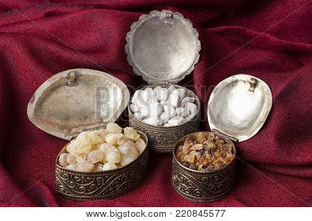 Frankincense is an aromatic resin, used for religious rites, incense and perfumes. High quality frankincense resin from Dhofar, Oman, Myrrh from Ethiopia and Greek Ortodox incense