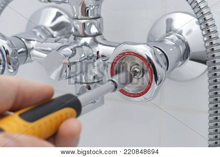 Repair Of A Water Tap