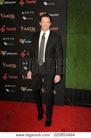 Hugh Jackman at 7th AACTA International Awards held at the Avalon in Hollywood, USA on January 5, 2018.