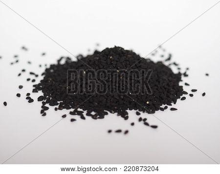 Nigella Sativa (aka Black Cumin) seeds spice poster