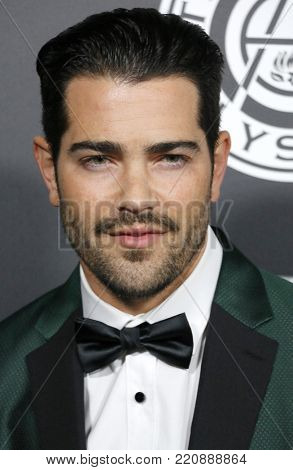 Jesse Metcalfe at the Art Of Elysium's 11th Annual Heaven Celebration held at the Barker Hangar in Santa Monica, USA on January 6, 2018.