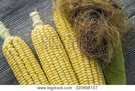 corn and tassel, natural sweet corn, fresh corn pictures,