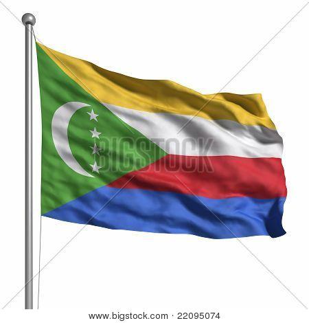 Flag Of Comoros