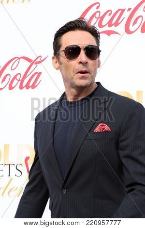 LOS ANGELES - JAN 6:  Hugh Jackman at the GOLD MEETS GOLDEN: The 5th Anniversary at the House on Sunset on January 6, 2018 in Los Angeles, CA