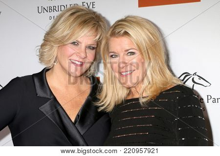 LOS ANGELES - JAN 5:  Tammy York Day, Tonya York Dees at the Unbridled Eve Derby Prelude Party Los Angeles at the Avalon on January 5, 2018 in Los Angeles, CA
