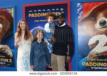 LOS ANGELES - JAN 6:  Allison Holker, Stephen Boss, Family at the