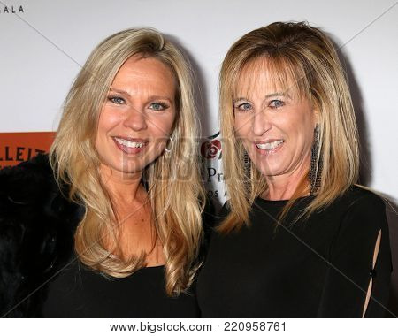 LOS ANGELES - JAN 5:  Kari Michaelsen, Brigitte Johnston at the Unbridled Eve Derby Prelude Party Los Angeles at the Avalon on January 5, 2018 in Los Angeles, CA