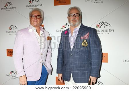 LOS ANGELES - JAN 5:  Matt Harris, Mark Harris at the Unbridled Eve Derby Prelude Party Los Angeles at the Avalon on January 5, 2018 in Los Angeles, CA