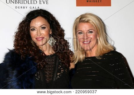 LOS ANGELES - JAN 5:  Sofia Milos, Tonya York Dees at the Unbridled Eve Derby Prelude Party Los Angeles at the Avalon on January 5, 2018 in Los Angeles, CA