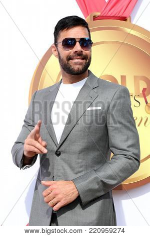 LOS ANGELES - JAN 6:  Ricky Martin at the GOLD MEETS GOLDEN: The 5th Anniversary at the House on Sunset on January 6, 2018 in Los Angeles, CA