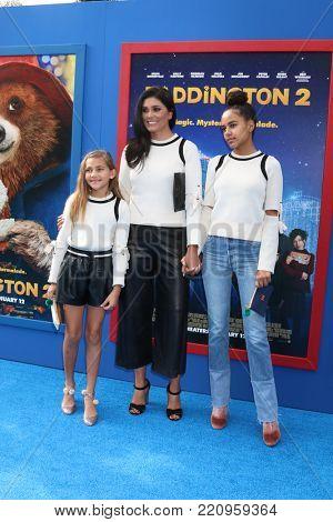 LOS ANGELES - JAN 6:  Rachel Roy, daughters at the