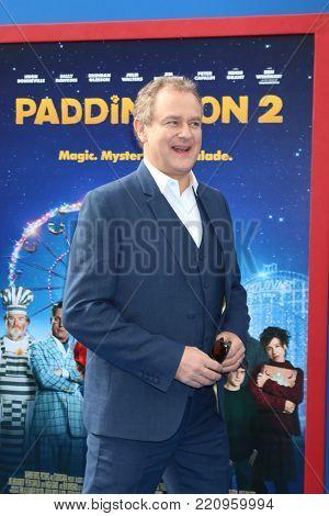 LOS ANGELES - JAN 6:  Hugh Bonneville at the