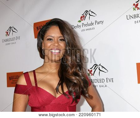 LOS ANGELES - JAN 5:  Julie Smith at the Unbridled Eve Derby Prelude Party Los Angeles at the Avalon on January 5, 2018 in Los Angeles, CA