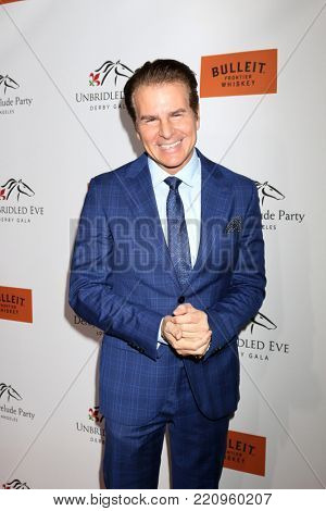 LOS ANGELES - JAN 5:  Vincent DePaul at the Unbridled Eve Derby Prelude Party Los Angeles at the Avalon on January 5, 2018 in Los Angeles, CA
