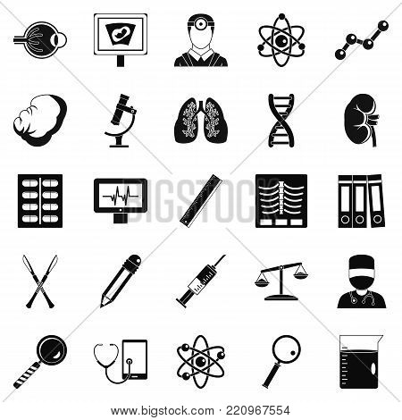 Evaluation icons set. Simple set of 25 evaluation vector icons for web isolated on white background
