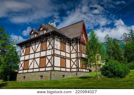Wonderful rustic chalet in the Tatras Mountains in Slovakia. Ideal place to serenity rest surrounded by the wild nature. Attractive tourist area for any activities.