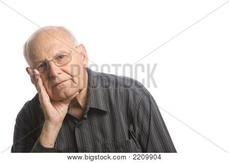 Good Looking Elderly Senior Man