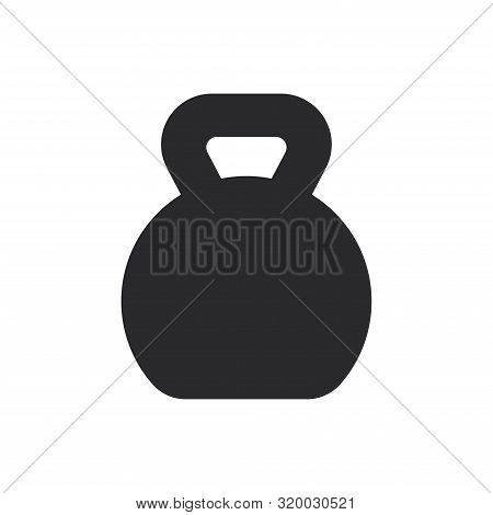 Kettlebells Icon Isolated On White Background. Kettlebells Icon In Trendy Design Style For Web Site