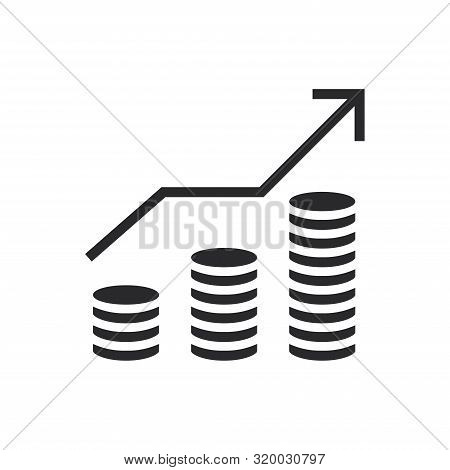 Business, Finance Icon Isolated On White Background. Business, Finance Icon In Trendy Design Style F
