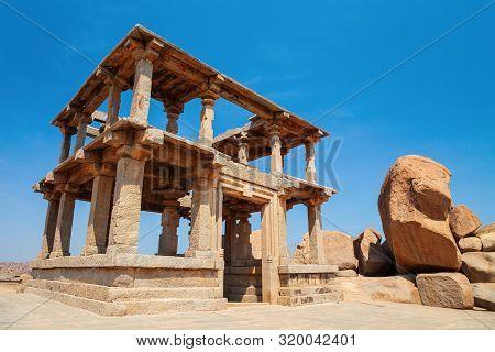 Hemakuta Hill Temple Complex At Hampi Was The Centre Of The Hindu Vijayanagara Empire In Karnataka S