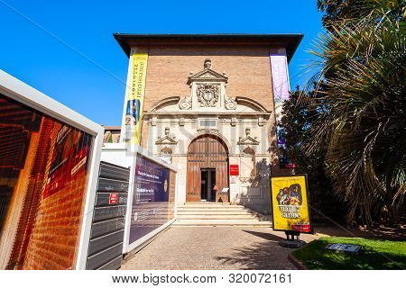 Toulouse, France - September 20, 2018: Musee Des Augustins De Toulouse Or Musee Des Beaux-arts Is A