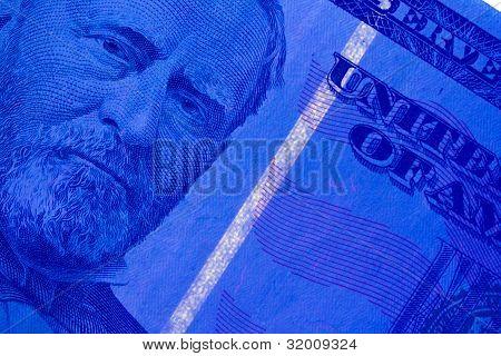 Security Strip on $50 Bill