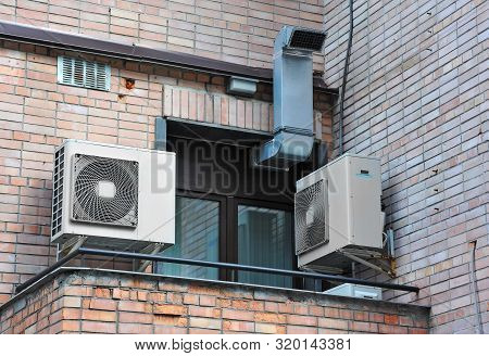 Air Conditioner System On Wall
