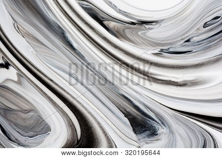 Acrylic, Paint, Abstract. Closeup Of The Painting. Colorful Abstract Painting Background. Highly-tex