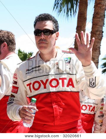 LOS ANGELES - APR 14:  Adam Carolla at the 2012 Toyota Pro/Celeb Race at Long Beach Grand Prix on April 14, 2012 in Long Beach, CA.