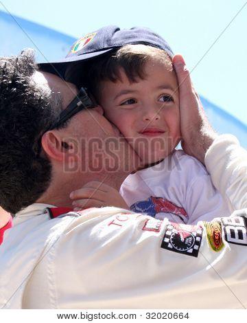 LOS ANGELES - APR 14:  Adam Carolla, son at the 2012 Toyota Pro/Celeb Race at Long Beach Grand Prix on April 14, 2012 in Long Beach, CA.
