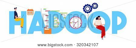 Hadoop Concept Of Big Data Open-source Software Utilities Using A Network Of Many Computers To Solve