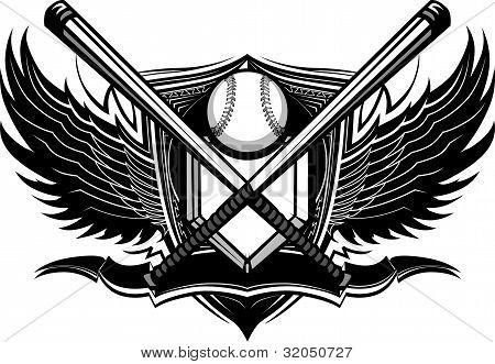 Baseball Softball Bats Ornate