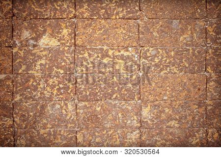 Laterite Wall Texture Nature Abstract  For Background