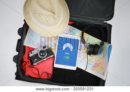 Protect Your Internet Traffic With Virtual Private Network  While Travelling Abroad