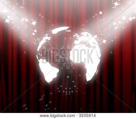 Globe On Stage