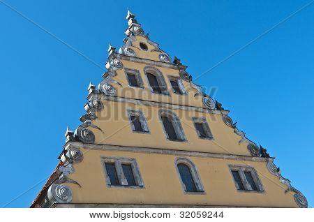 Dinkelsbuehl House Facade