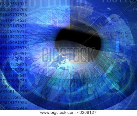 Abstract Digital World