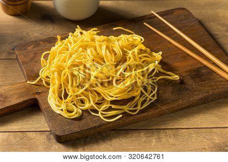 Homemade Japanese Yakisoba Egg Noodles