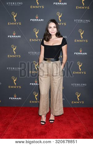 LOS ANGELES - AUG 28:  Emma Demirjian at the 2019 Daytime Programming Peer Group Reception at the Saban Media Center on August 28, 2019 in North Hollywood, CA
