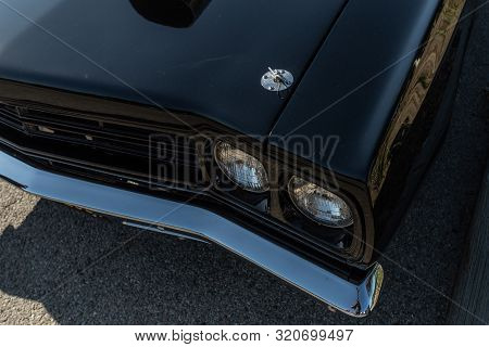 Plymouth Gtx On Display During Supercar Sunday Event.