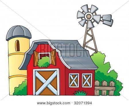 Farm theme image 1 - vector illustration.