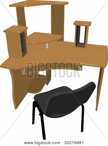 chair And Table For Your Computer